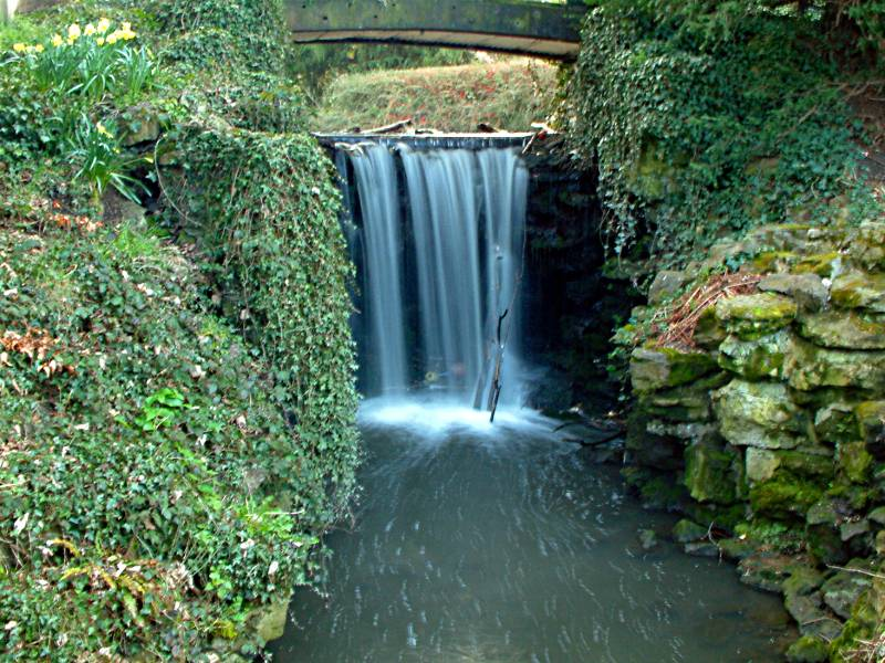 Kelsey Park Waterfall